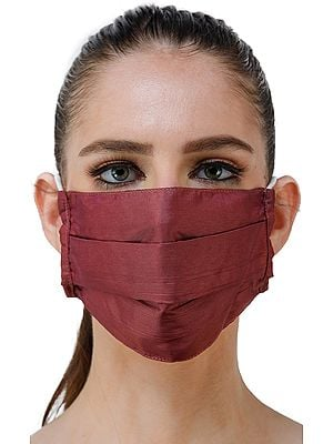 Ashram Two-Ply Printed Fashion Mask with Cotton-Backing and Ear Loops