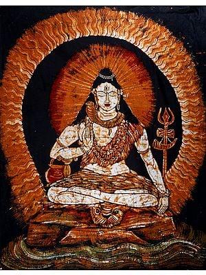 Lord Shiva In Samadhi
