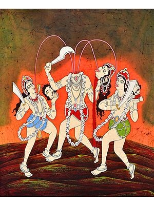 The Ten Mahavidyas : Chinnamasta - The Self Decapitated Goddess