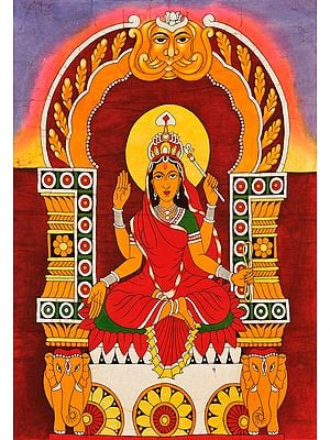The Ten Mahavidyas : Bhuvaneshwari - She Whose Body is the World
