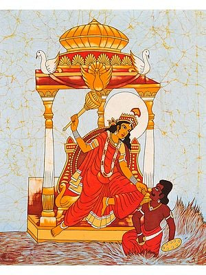 The Ten Mahavidyas : Bagalamukhi - The Paralyzer