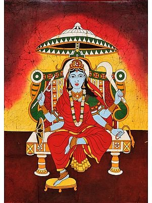 The Ten Mahavidyas : Matangi - The Outcaste Goddess