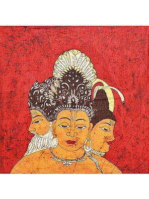Trinity of Brahma, Vishnu, Mahesha