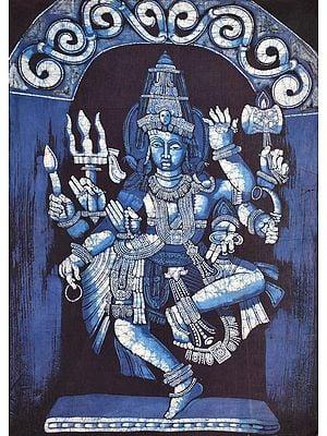 Dancing Shiva at Ellora