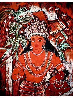 Avalokiteshvara of the Ajanta Caves