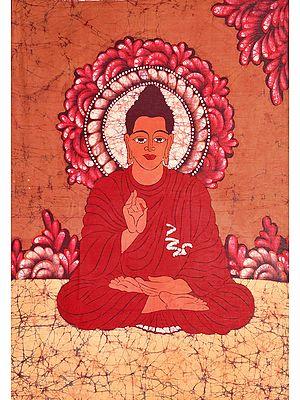Buddha in the Dharmachakra Mudra