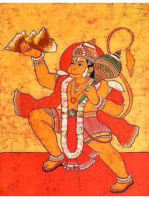 Hanuman Fetches A Mound Of Sanjeevani