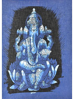 Kamalasana Lord Ganesha