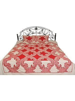 Bedsheet from Pilkhuwa with Floral Print