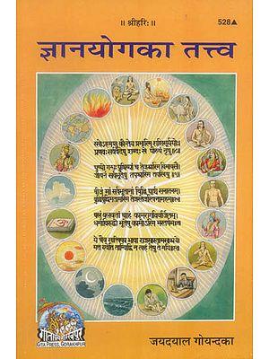 ज्ञान योग का तत्त्व: The Essence of Jnana Yoga