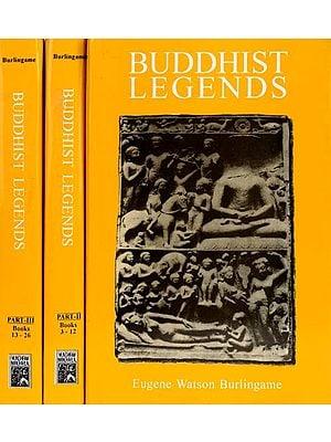 BUDDHIST LEGENDS - 3 Vols.