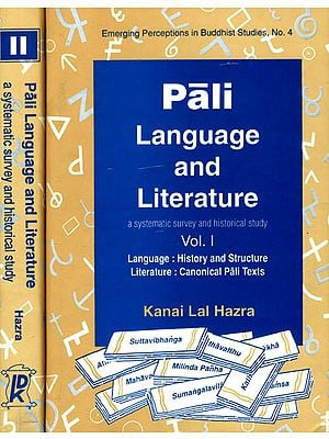 Pali Language and Literature (In Two Volumes)