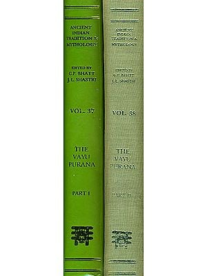 THE VAYU PURANA: 2 Volumes