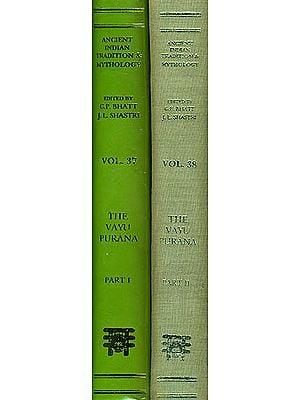 THE VAYU PURANA: 2 Volumes