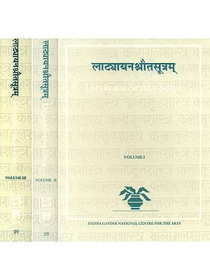 Latyayana-Srauta-Sutra in Three Volumes