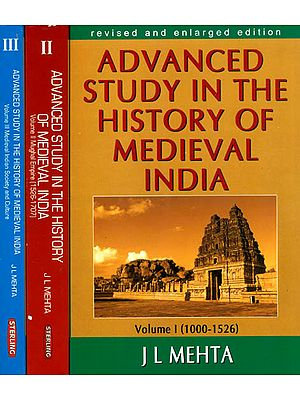 Advanced Study in The History of Medieval India (Set of 3 Volumes)