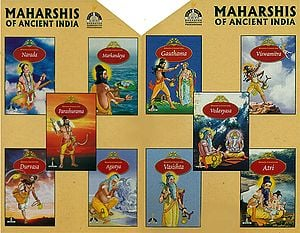 Maharshis of Ancient India (Set of 10 Books)