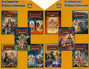 Epic Characters of Vedas and Upanishads (Set of 10 Books)