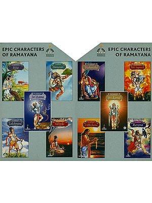 Epic Characters of Ramayana (Set of 10 Books)