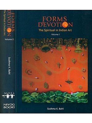 Forms of Devotion: The Spiritual in Indian Art (Set of 2 Volumes)