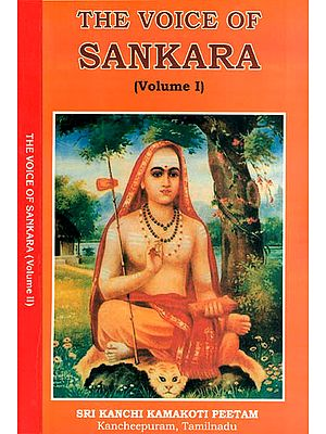 The Voice of Sankara (Set of 2 Volumes)