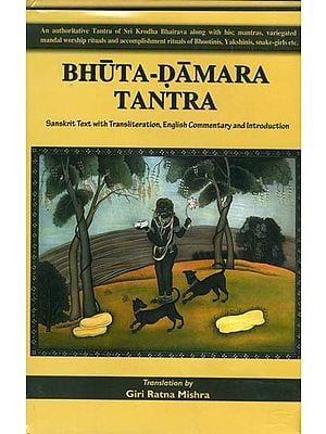 Bhuta Damara Tantra (An  Authoritative Tantra of Sri Krodha Bhairava Along with His Mantras, Mandal Worship Rituals and Accomplishment Rituals of Bhutinis, Yakshinis, Snake-Girls etc.)