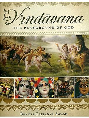 Vrndavana - The Playground of God (A Profusely Illustrated Book)