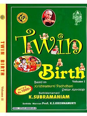Twin Birth - Based on Krishnamurti Padhdhati (Set of 2 Volumes)