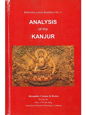 Analysis of The Kanjur