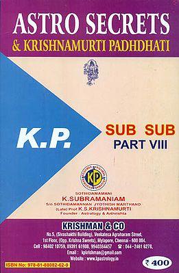 Astrosecrets & Krishnamurti Padhdhati (Part -VIII)
