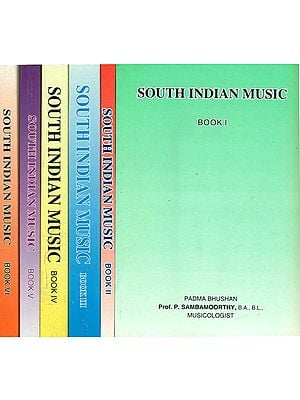 South Indian Music (Set of 6 Volumes)