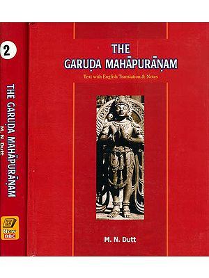 The Garuda Purana: Sanskrit Text with English Translation (Set of 2 Volumes)