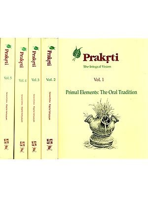 Prakrti - The Integral Vision (Set of 5 Volumes)
