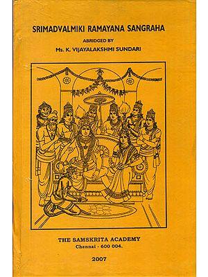 Srimad Valmiki Ramayana Sangraha