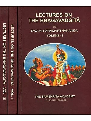 Lectures on The Bhagavadgita (Set of 3 Volumes)