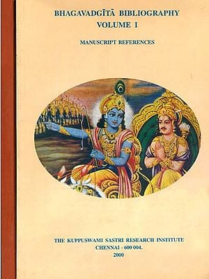 Bhagavadgita Bibliography (Set of 2 Volumes)