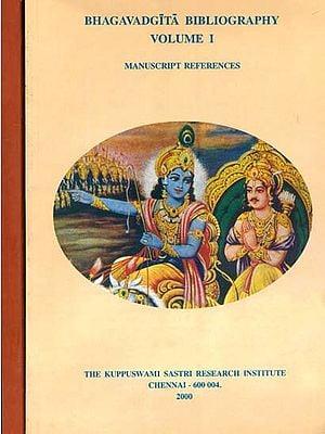 Bhagavadgita Bibliography (Set of 2 Volumes)