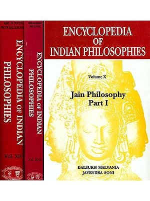 Encyclopedia of Indian Philosophies: Jain Philosophy (Set of 3 Volumes)