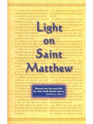 Light on Saint Matthew (A Commentary on the Gospel)