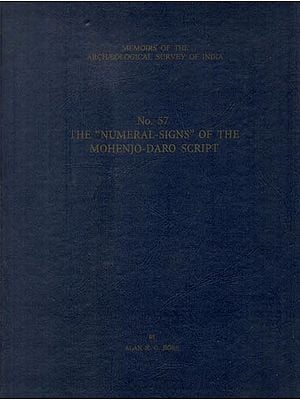 "The ""Numeral-Signs"" of the Mohenjo-Daro Script"