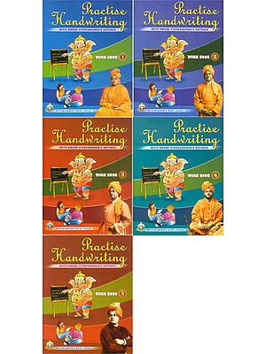 Practise Handwriting with Swami Vivekananda's Sayingss (Set of 5 Volumes)