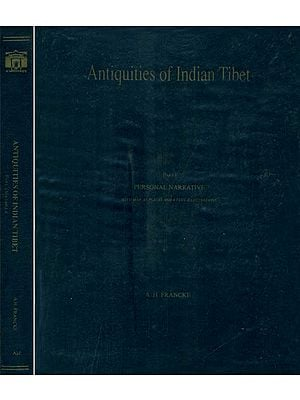 Antiquities of Indian Tibet (Set of 2 Volumes)