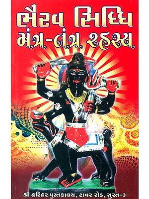 ભૈરવ સિદ્ધિ મંત્ર તંત્ર રહસ્ય: Bhairav Siddhi (Secrets of Mantra and Tantra) (Gujarati)