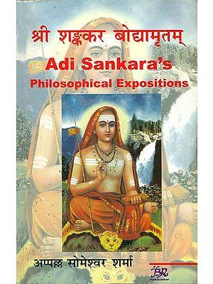 श्री शङ्कर बोद्यामृतम्: Adi Sankara's Philosophical Expositions