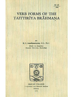 Verb Forms of The Taittiriya Brahmana