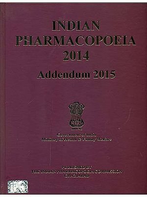 Indian Pharmacopoeia 2014 Addendum 2015 With CD Inside