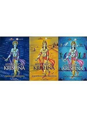 Historical Krishna (Set of 3 Volumes)