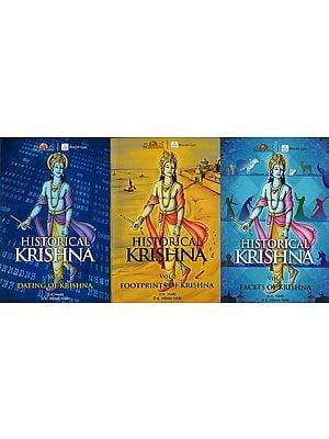 Historical Krishna (Set of 3 Volumes)