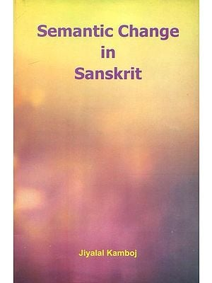Semantic Change in Sanskrit