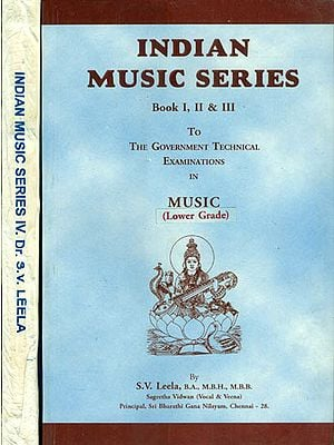 Indian Music Series (Set of 2 Volumes)